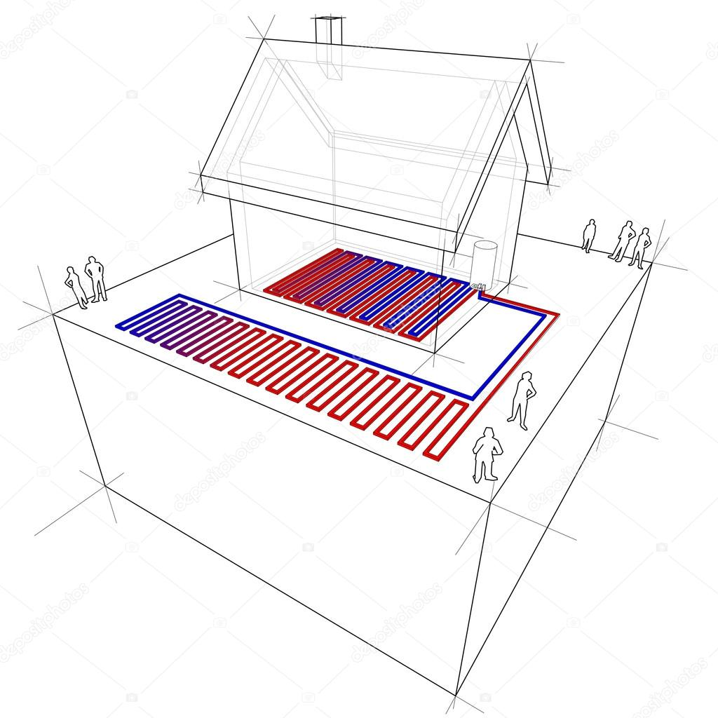 Underfloor drafting services